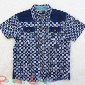 *The Good Ones* (MJC) Button Up Shirt. Size 7-8